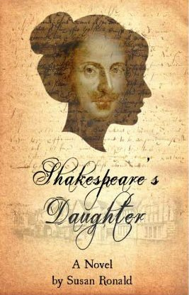 Book cover of Novel Shakespeare's Daughter by Susan Ronald